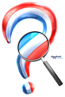 3D illustration for Aquafresh